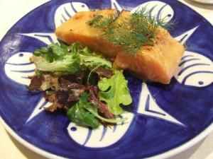 White miso-marianated salmon [Saikyo Yaki]